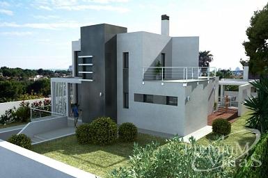 Moderne Villa Calpe Costa Blanca